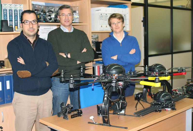 Atyges cierra acuerdos para suministrar drones en Japón
