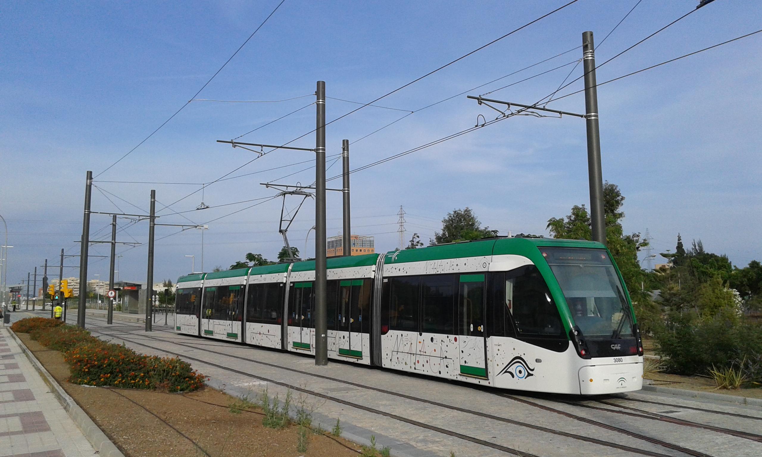 El metro de Málaga cumple sus previsiones en 2014 y prevé 4'9 millones de usuarios para finales de 2015