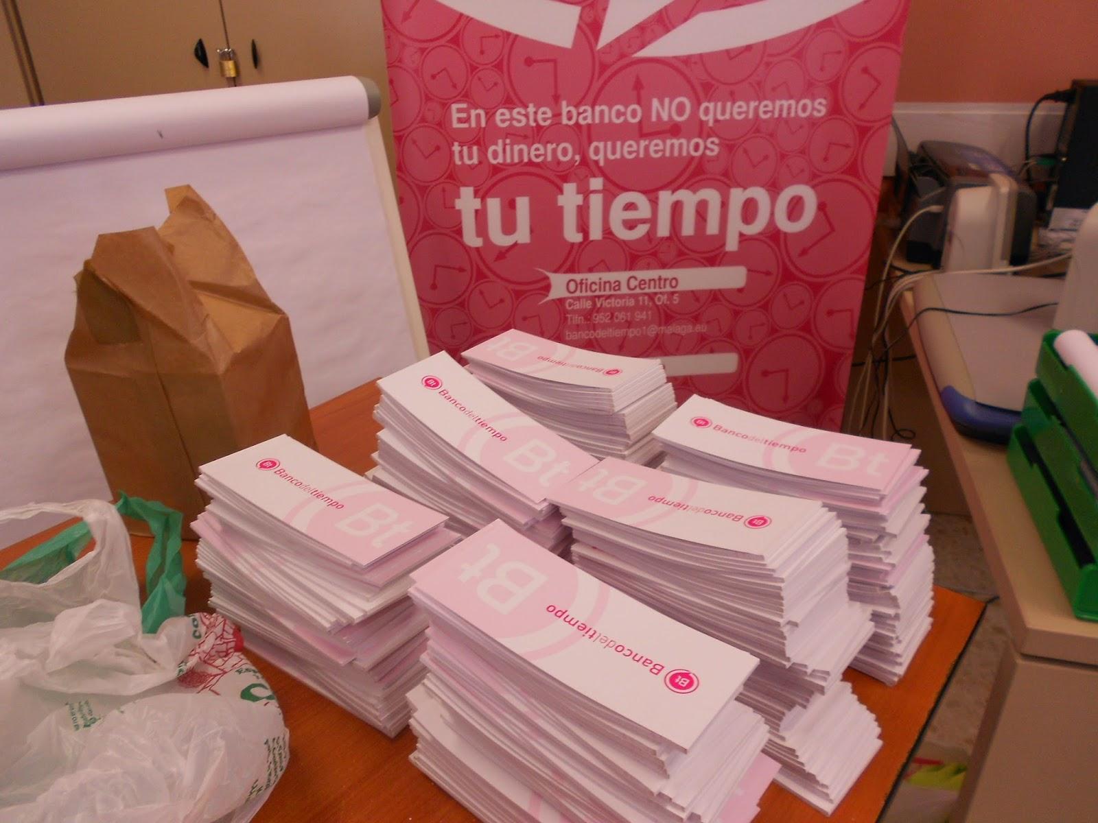 Cerca de 2.000 personas participan diariamente en los Bancos del  Tiempo de Málaga