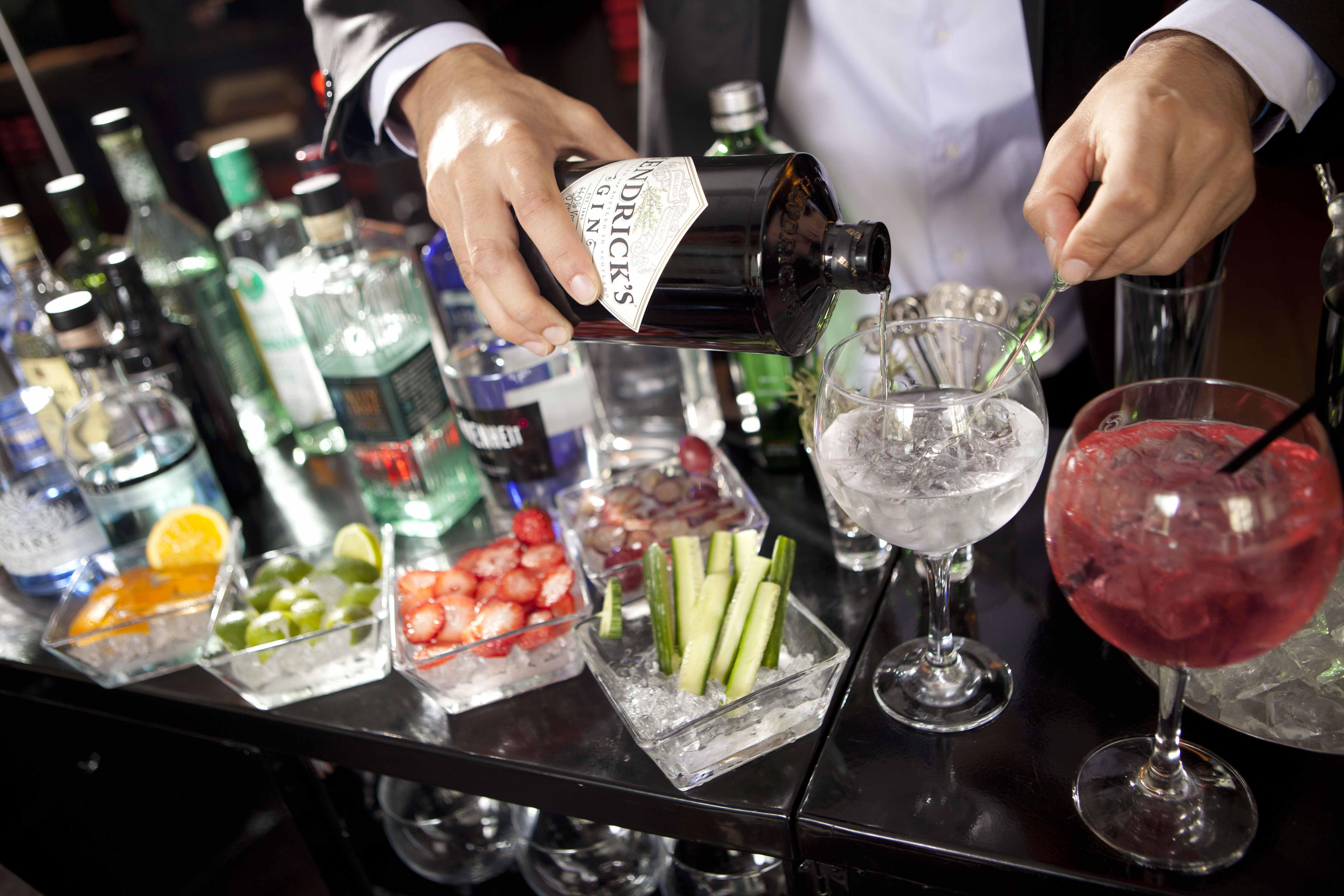Gin-tonic para todos: un carro del que nadie se quiere bajar