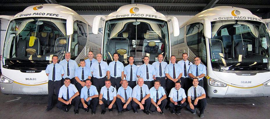El grupo de transporte Paco Pepe supera los 850.000 viajeros hasta septiembre