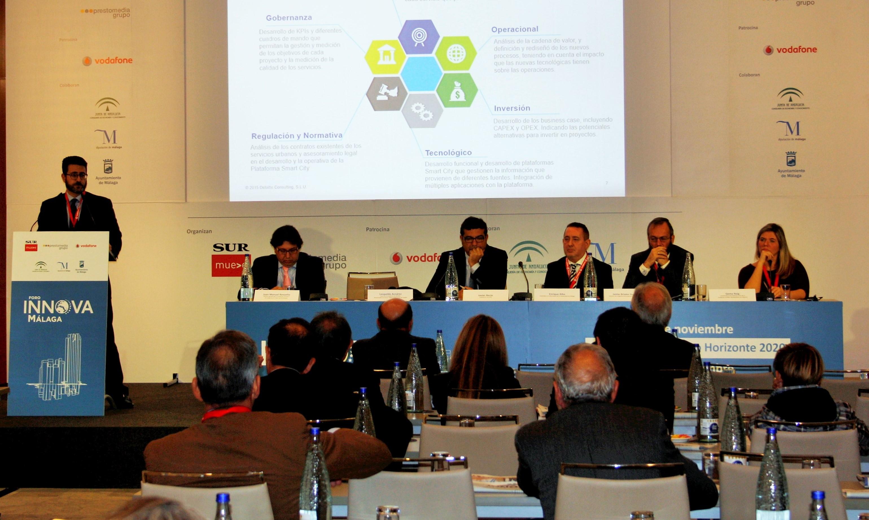 Expertos en smart city y financiación europea se encontraron en el Foro Innova Málaga
