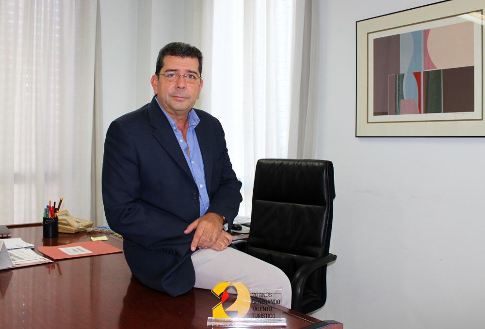 Antonio Guevara Plaza, decano de la Facultad de Turismo de la Universidad de Málaga