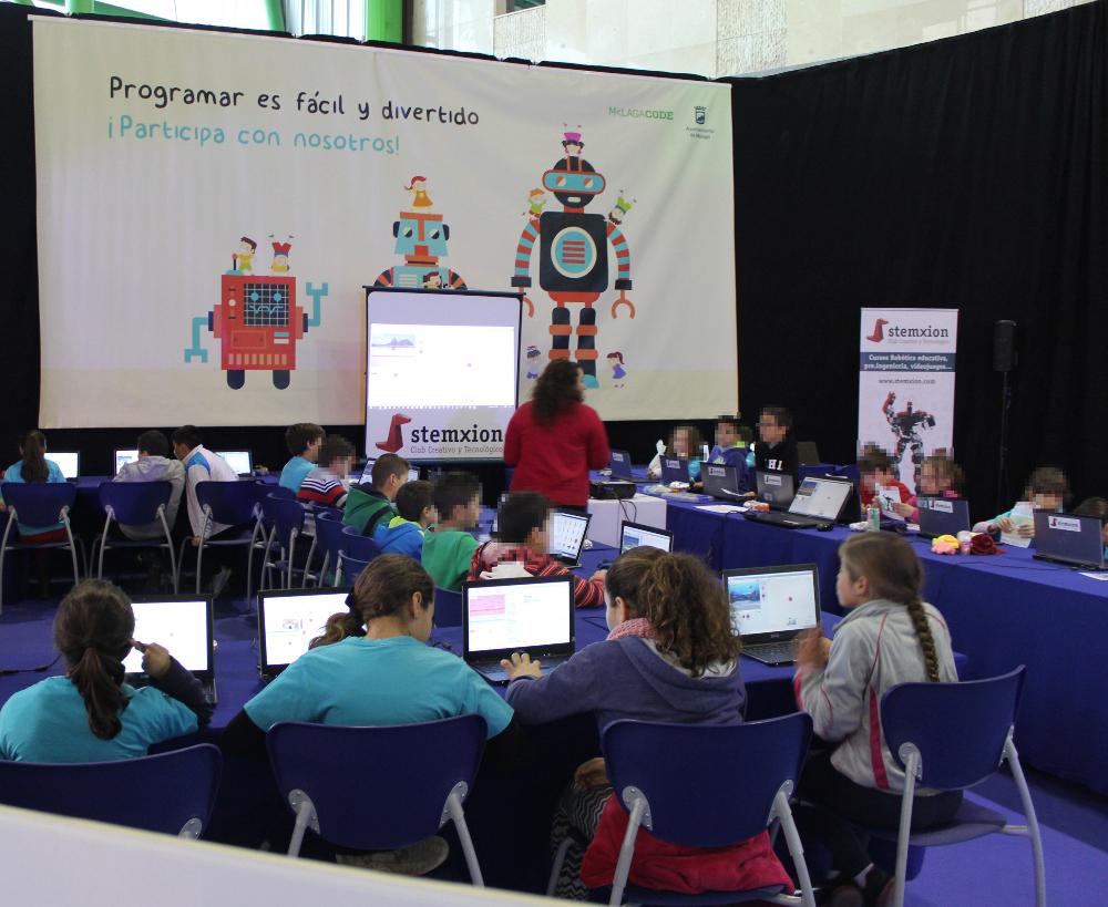 Málaga code fomenta la programación en MIMA