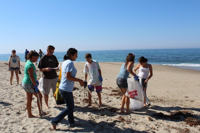 Torre del Mar takes part in a major clean of the seabed