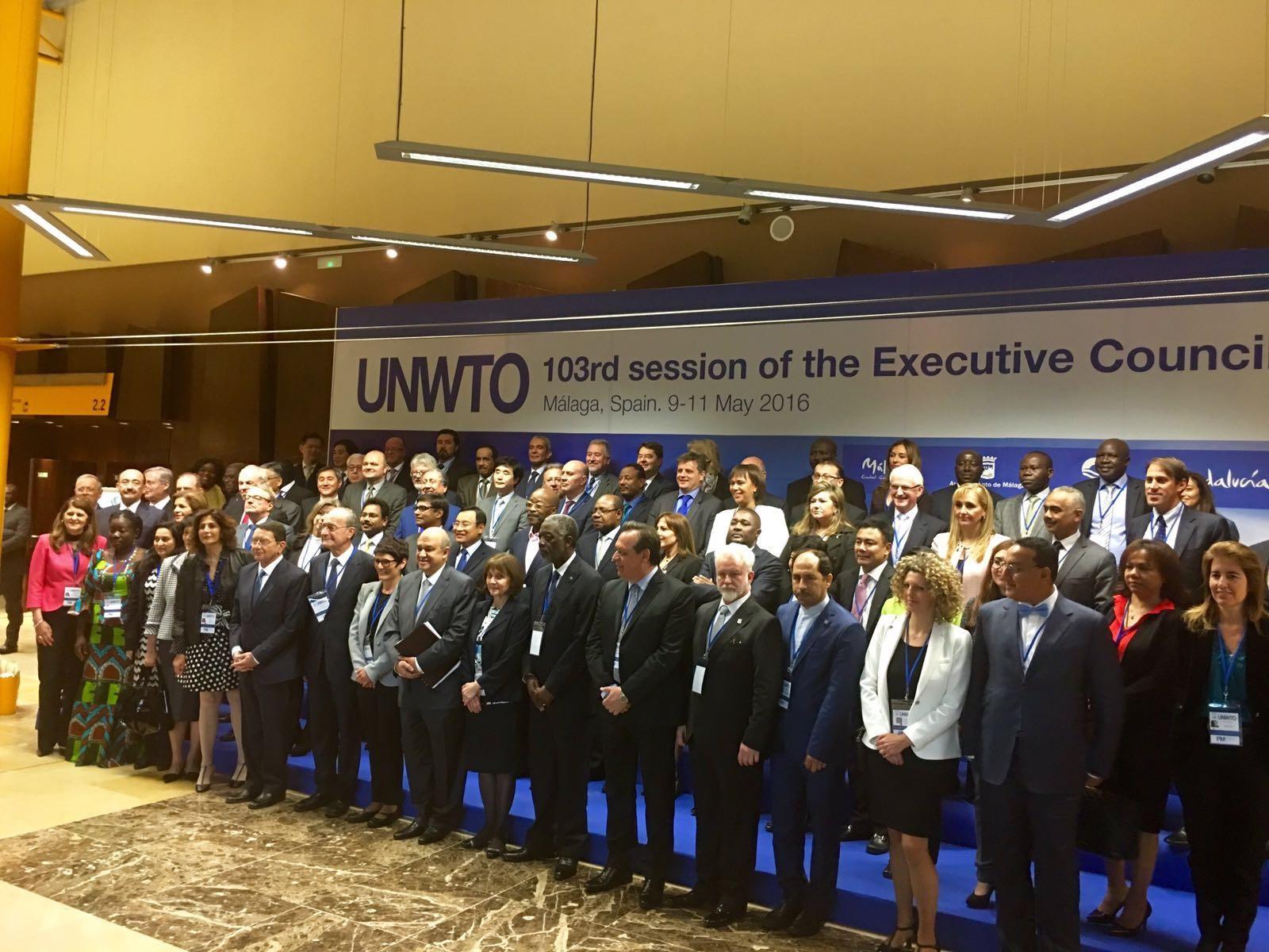 El Consejo Ejecutivo de la OMT se reúne en Málaga para debatir sobre el futuro del sector