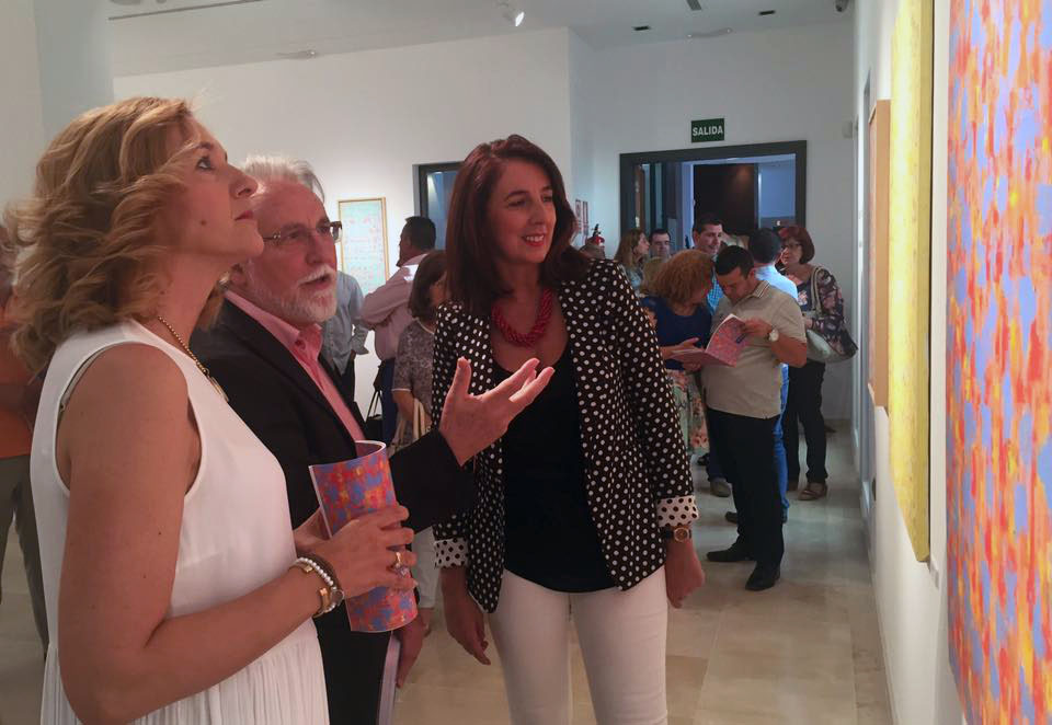 """Se inaugura en Alhaurín el Grande la exposición """"Un jardín en el Sur"""" del pintor Juan Antonio Díaz"""