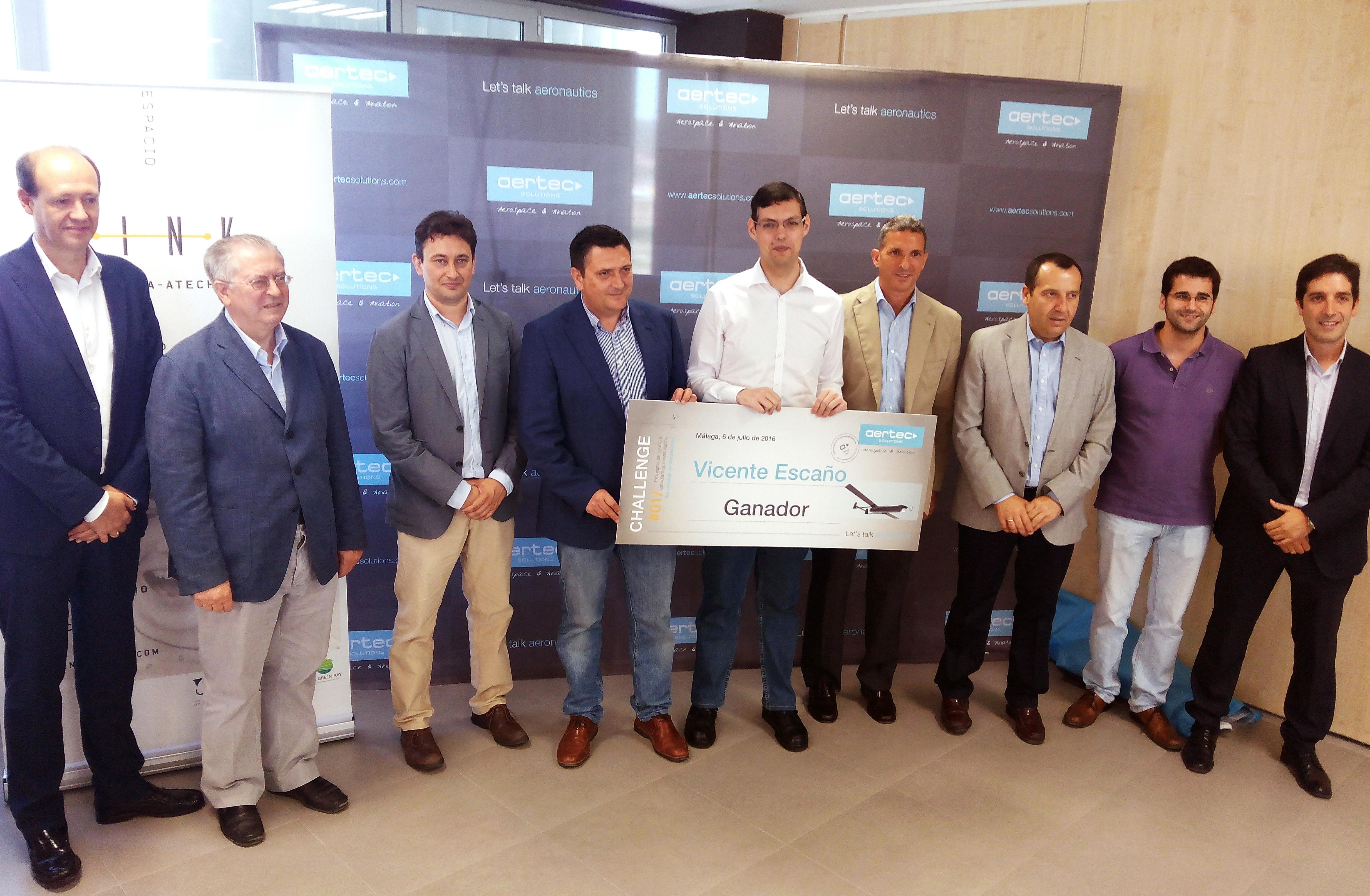 Los 'Aertec Challenge' revelan un gran talento en los 'telecos' de la UMA