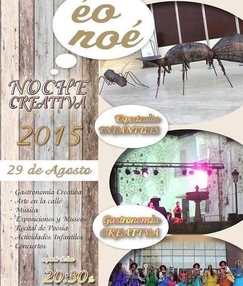 """Alhaurín el Grande celebrará el 27 de agosto la """"Noche Creativa Éo Noé"""", su gran propuesta cultural del verano para todos los públicos"""