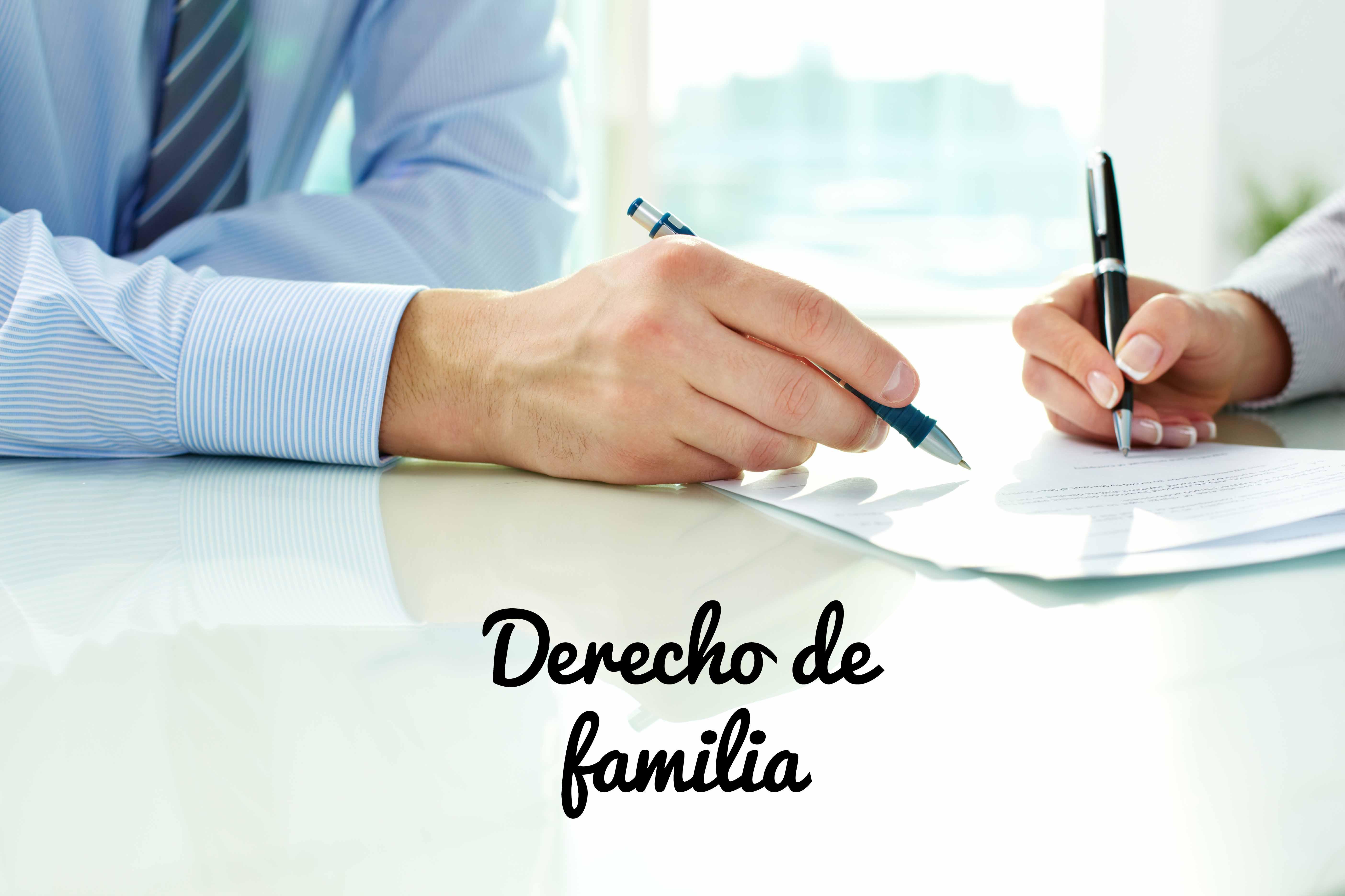 Derecho de familia ESD74