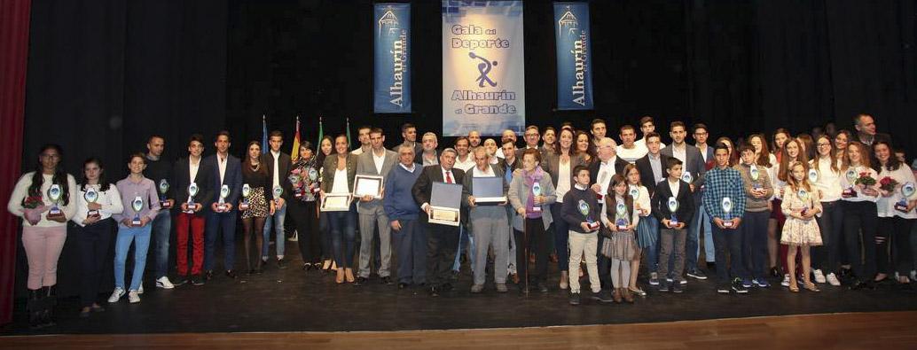 Alhaurín el Grande celebra con gran éxito la XXIX Gala Municipal del Deporte