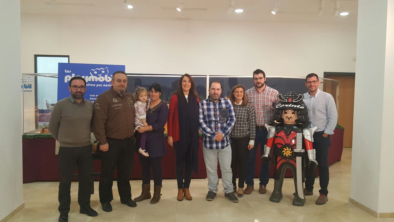 """""""Los Playmobil vuelven por Navidad"""" en una muestra sorprendente en la Biblioteca Municipal de Alhaurín el Grande"""