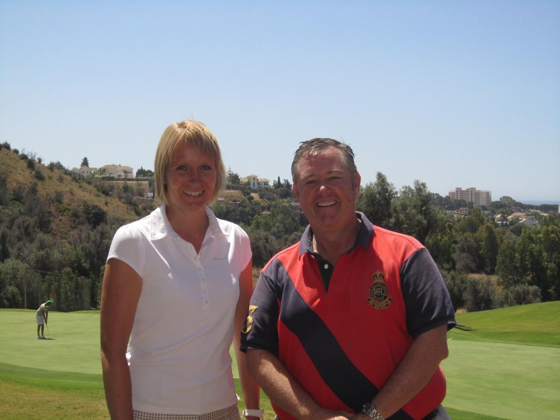 Emoción y placer, todo un reto en el recorrido del Marbella Golf Country Club