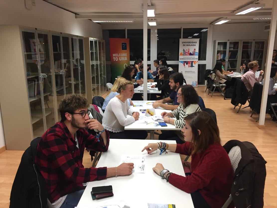 La UMA fomenta el intercambio de idiomas entre sus estudiantes internacionales y el resto de la comunidad universitaria