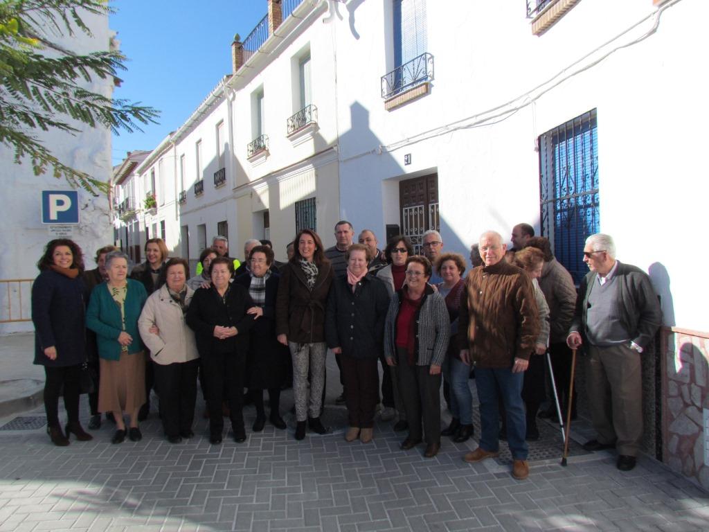 Finalizan las obras en Calle Doctor Dávila y Pasaje Los Molinos – Alhaurín El Grande