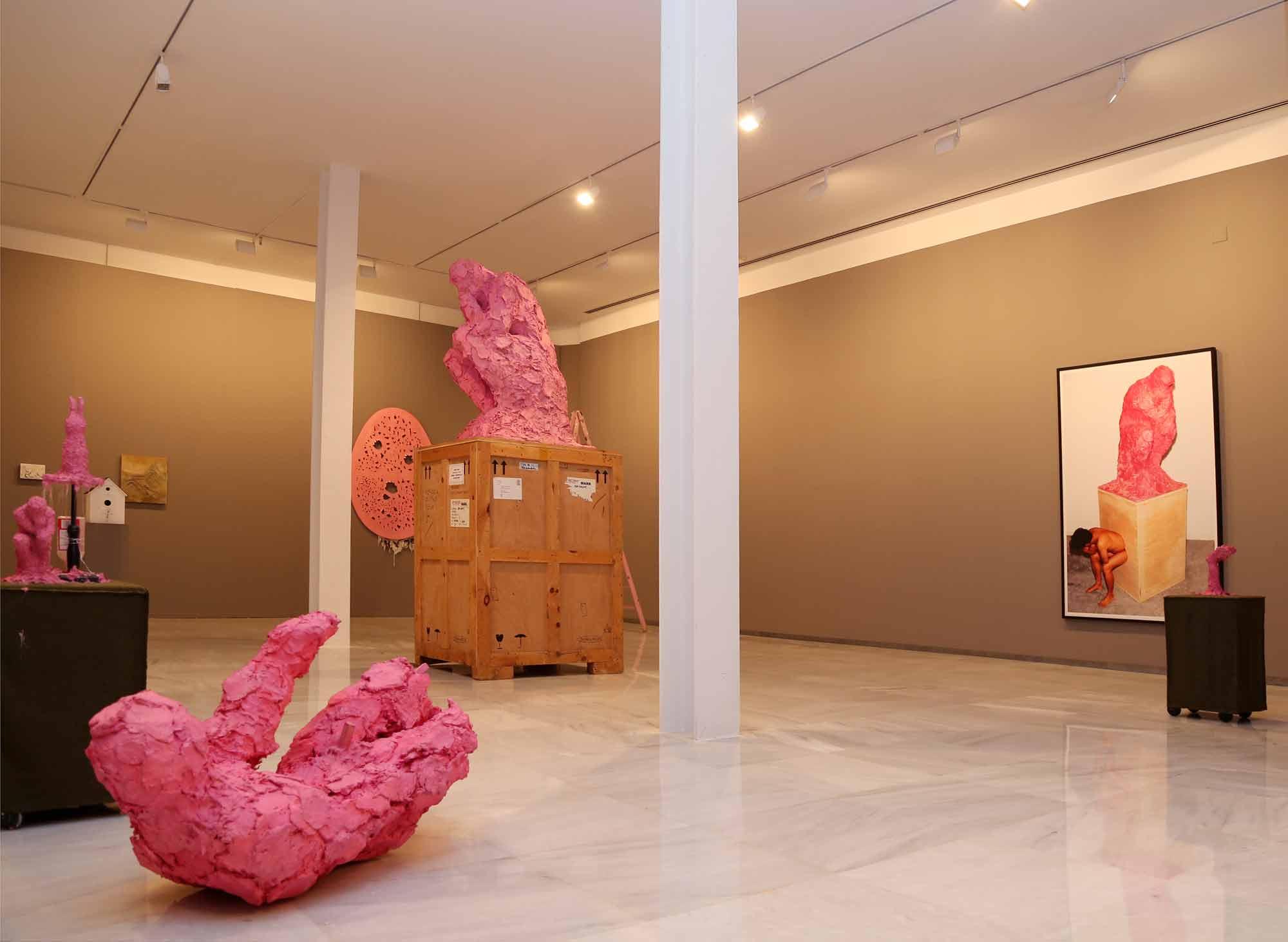 El Rectorado exhibe obras de uno de los artistas coreanos más relevantes, Cody Choi