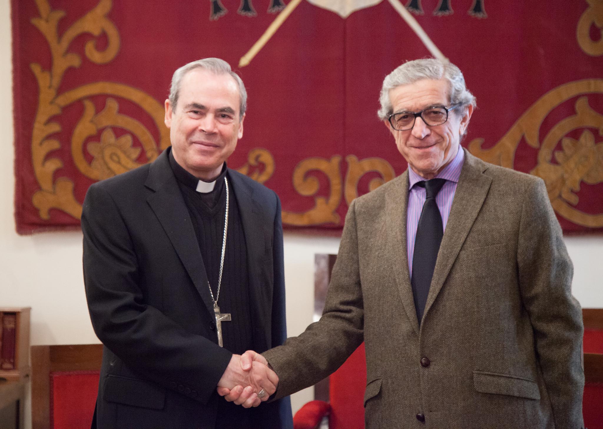 La Fundación Unicaja renueva el apoyo al Obispado de Málaga para reforzar su labor social y cultural
