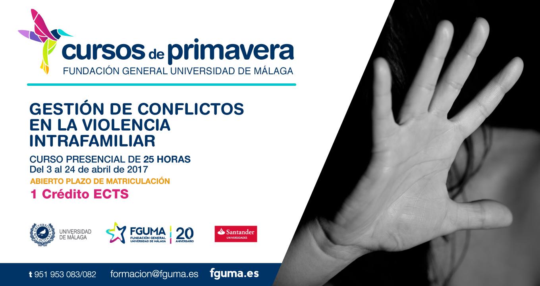 Cursos de Primavera de la FGUMA – Gestión de conflictos en la violencia intrafamiliar