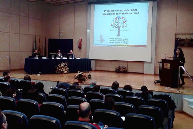 Jornada sobre enfermedades raras, Universidad de Málaga