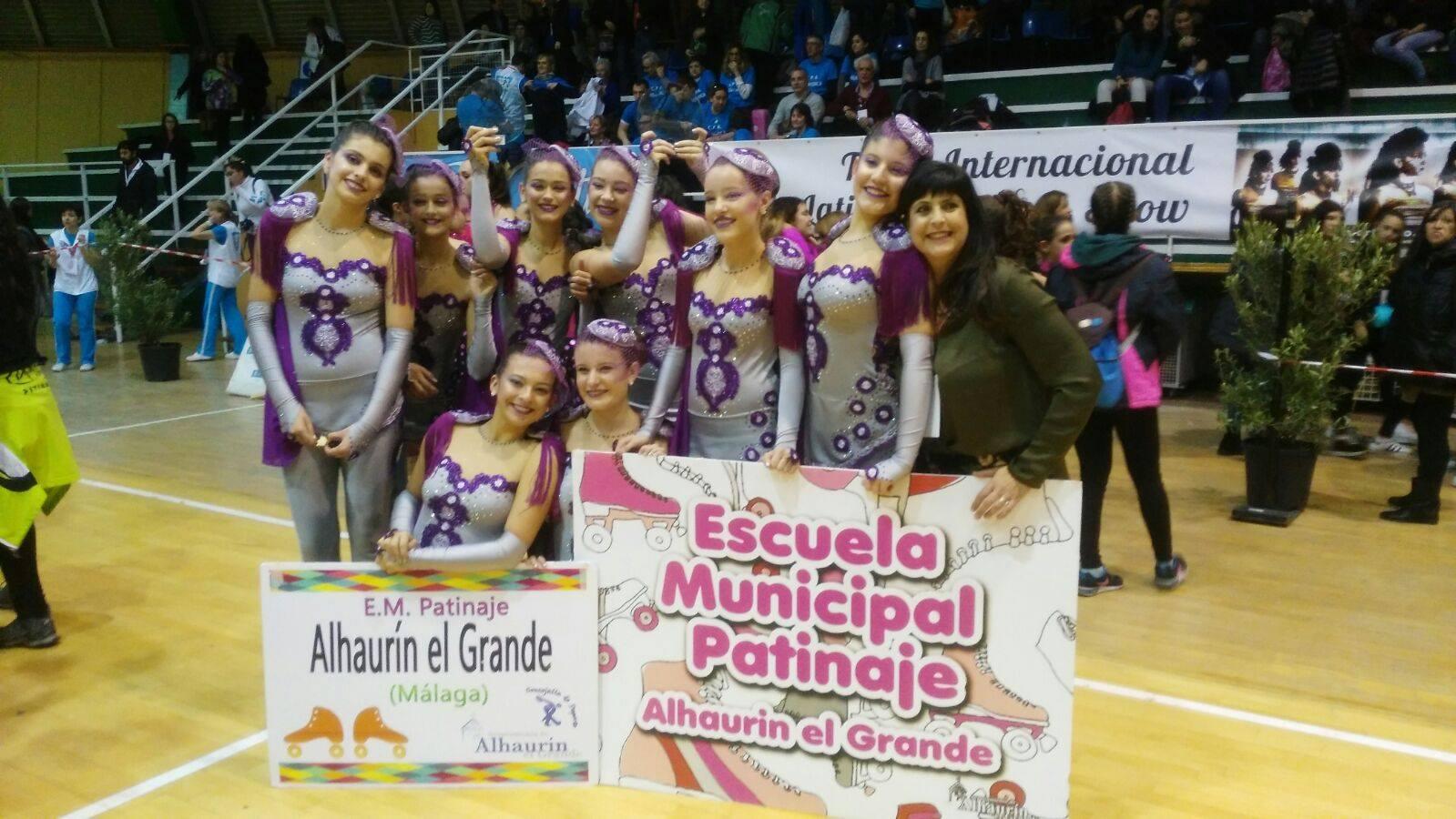 Gran triunfo en Madrid de la Escuela de Municipal de Patinaje