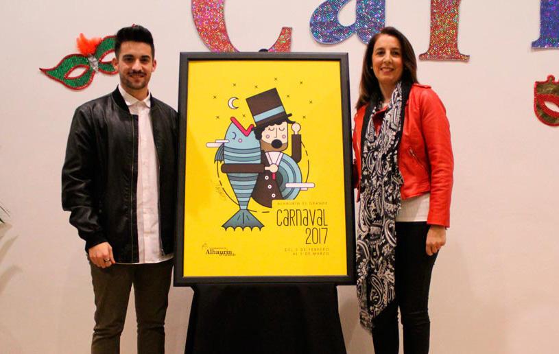 Presentación del cartel oficial y programa de actos del Carnaval de Alhaurín el Grande