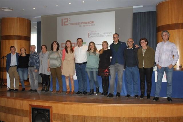 Fernando Muñoz es el nuevo secretario general al frente de CCOO de Málaga
