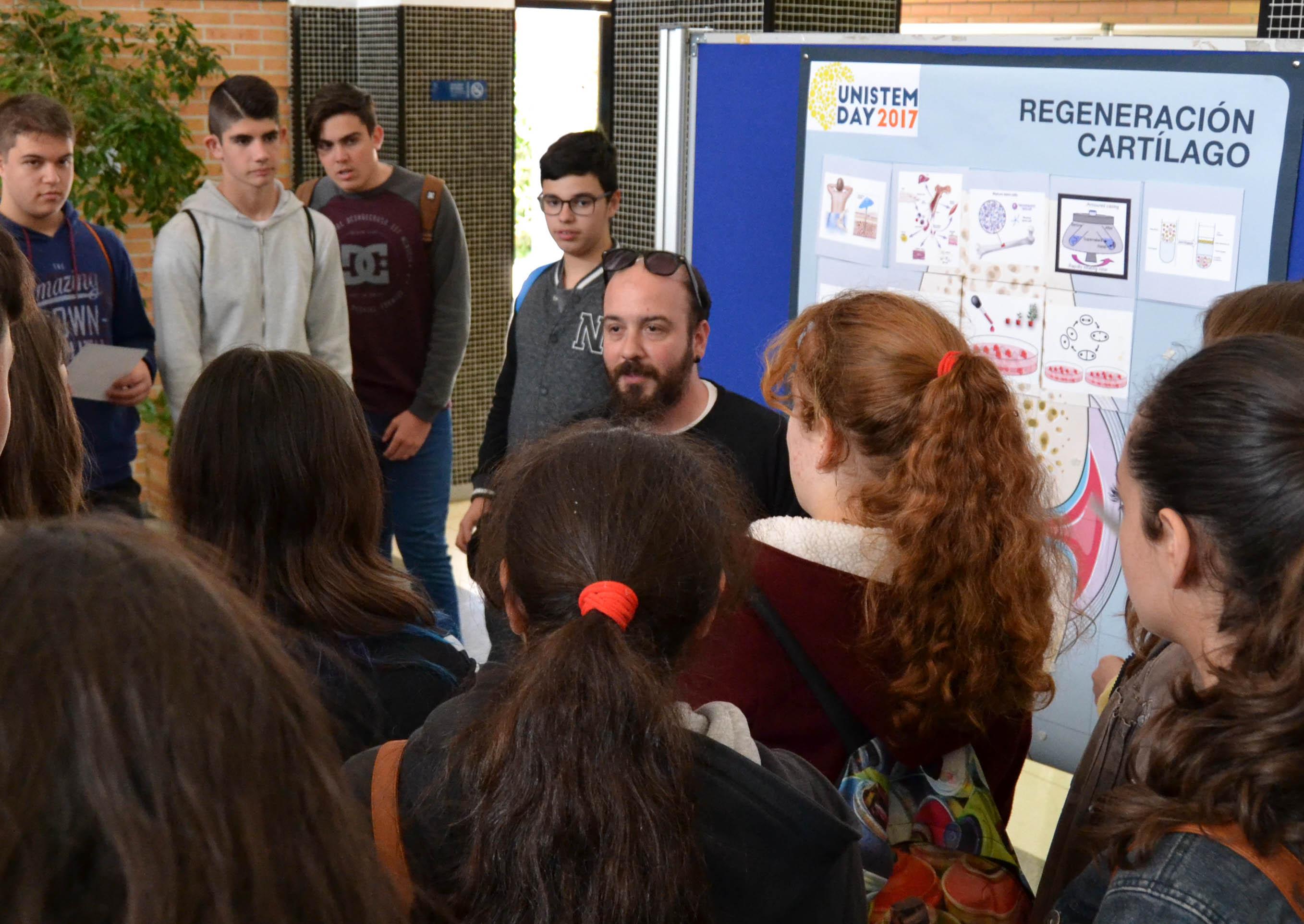 El Unistem Day acerca a más de 250 alumnos de secundaria a la investigación en células madre