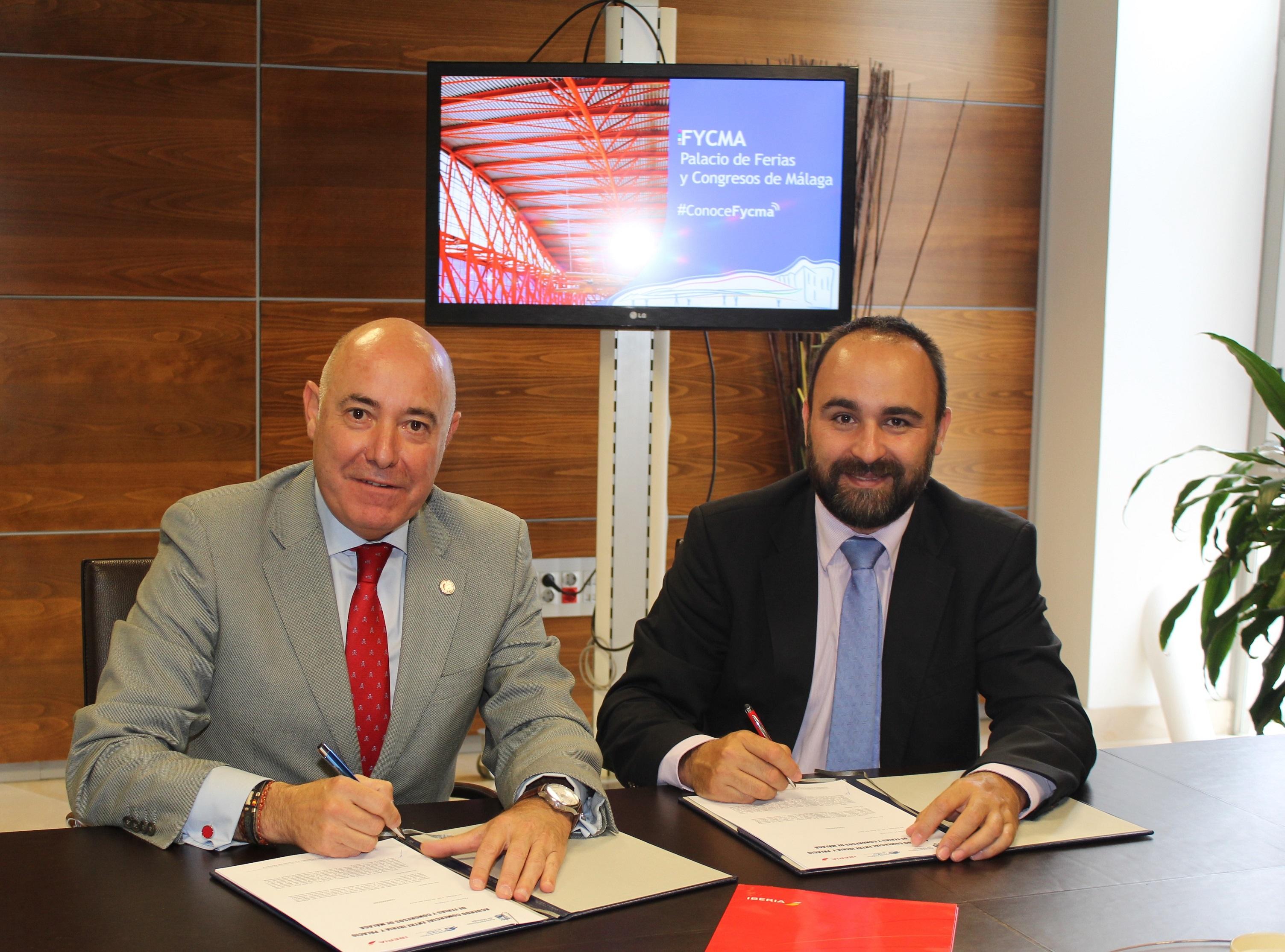 El palacio de Ferias y Congresos de Málaga e Iberia renuevan su acuerdo de condiciones ventajosas a los congresistas