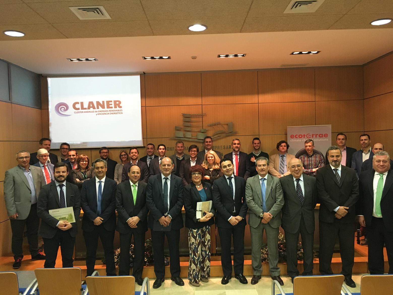 CLANER congrega al sector renovable andaluz y muestra la fortaleza de su industria