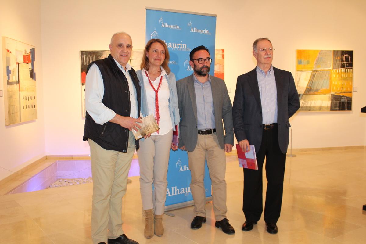 La Biblioteca Municipal de Alhaurín el Grande acoge una exposición de la artista Carmen Tischler