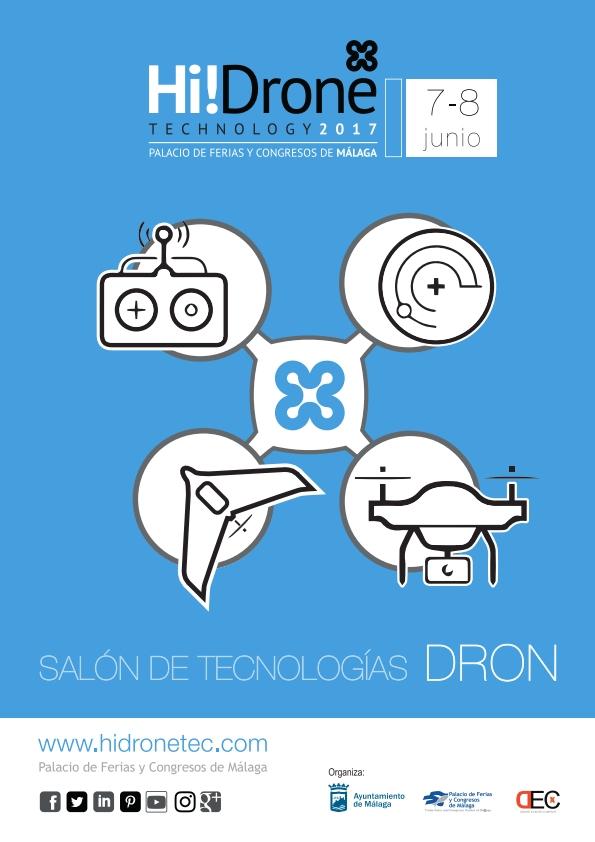 Hi!Drone Technology abordará en junio los últimos avances en materia de legislación y aplicaciones en smartcities, agricultura y seguridad