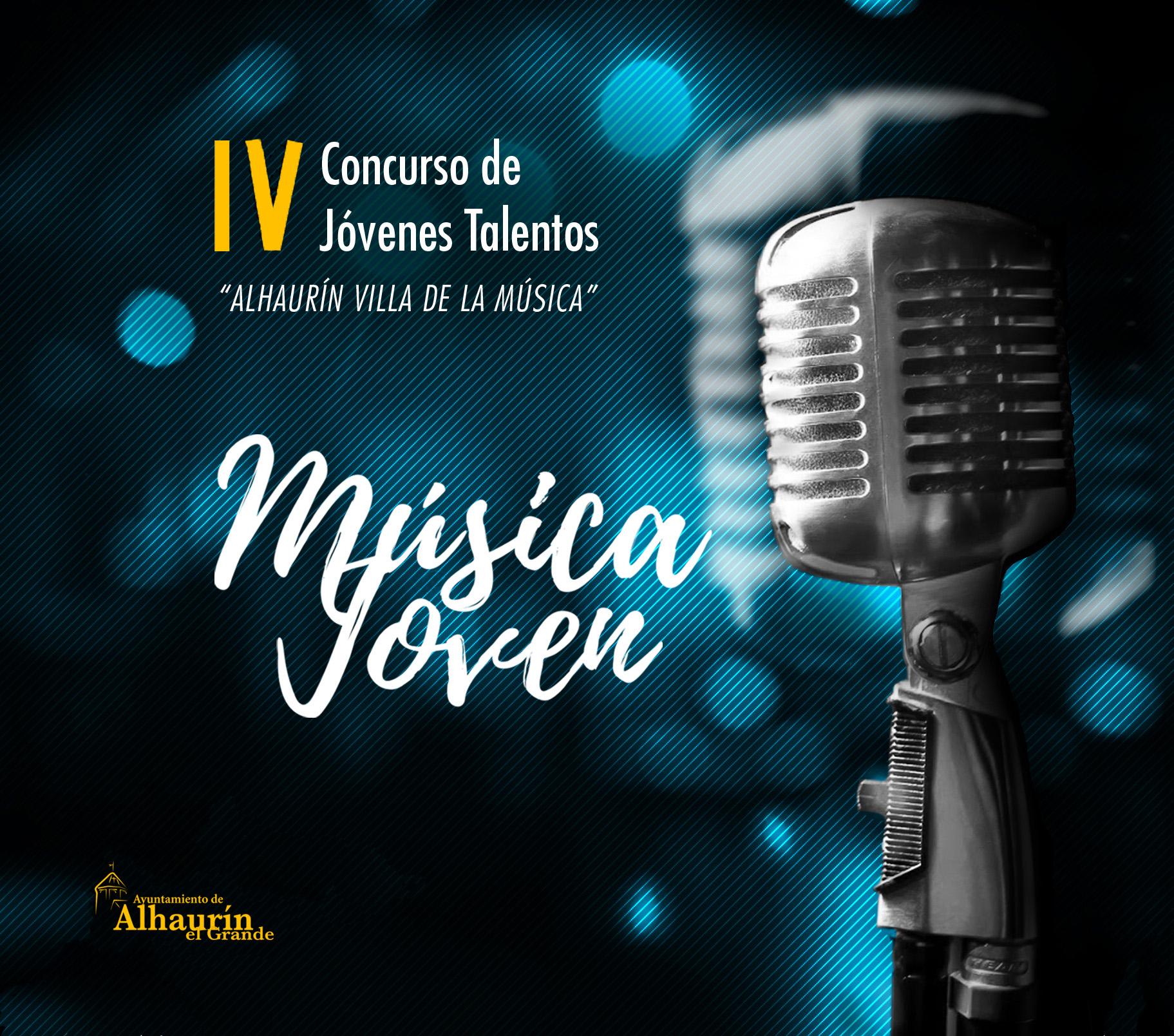 Abierto el plazo para participar en el IV Concurso Música Joven que organiza el Ayuntamiento de Alhaurín el Grande