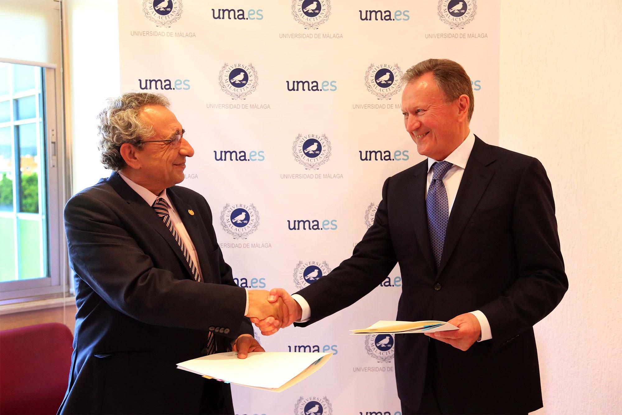 La UMA y la Universidad de Medicina de Odessa colaboran en materia de investigación