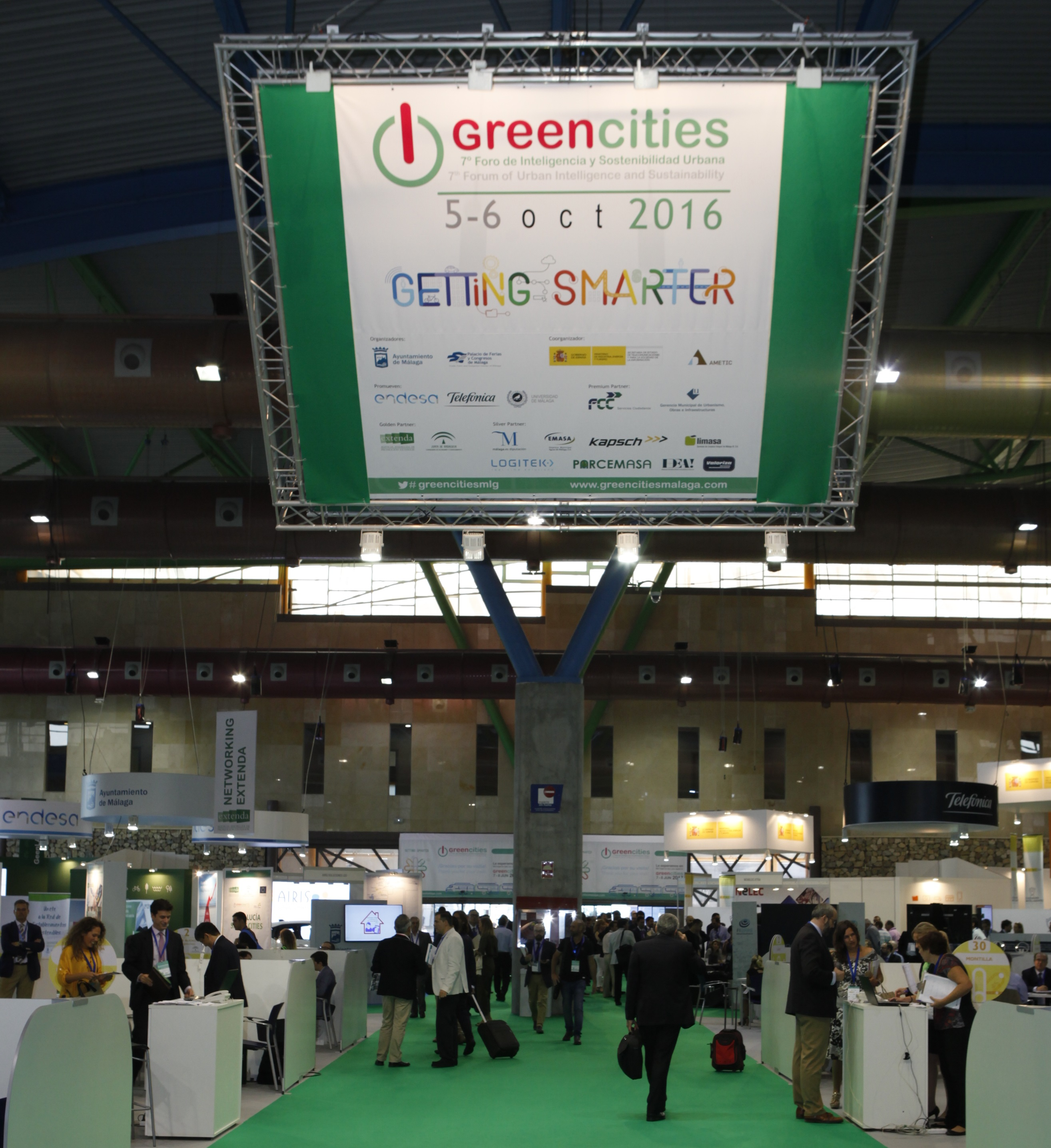 Empresas e instituciones analizan en Greencities oportunidades de financiación para smartcities y soluciones en eficiencia energéticas