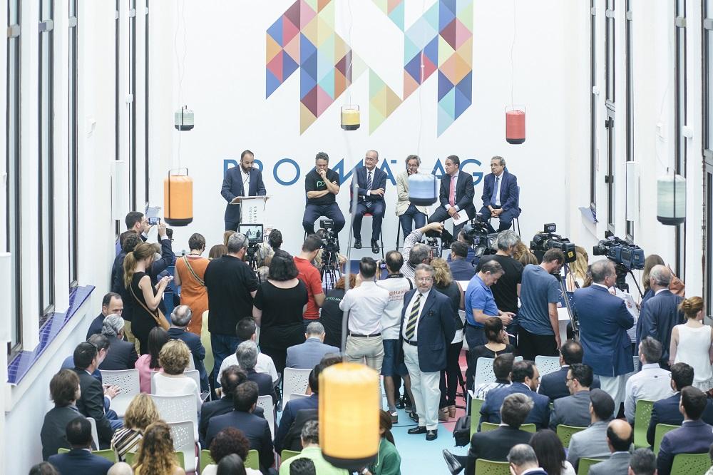 Inaugurado en Málaga el primer polo tecnológico de Contenidos Digitales de España