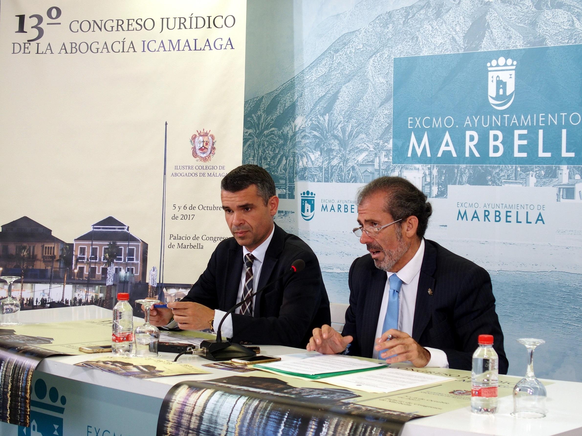 Marbella acogerá en octubre el Congreso de la Abogacía de Málaga