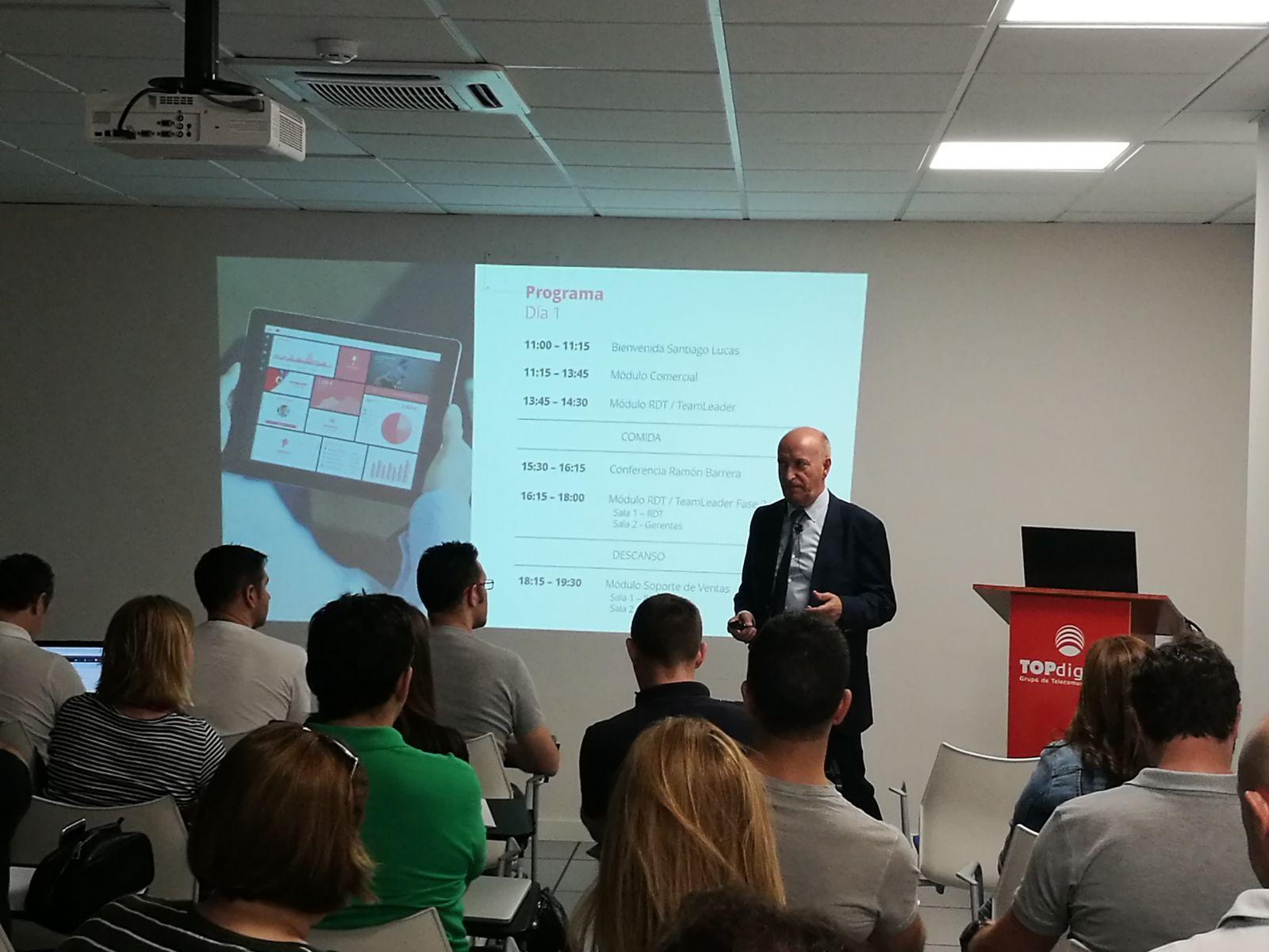 TOPdigital reúne a los principales distribuidores de Vodafone en España para presentar la renovación de su herramienta TOPgestión