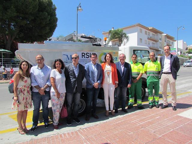 La Diputación de Málaga elige Alhaurín el Grande para campaña pionera en la recogida de envases ligeros en el casco histórico.