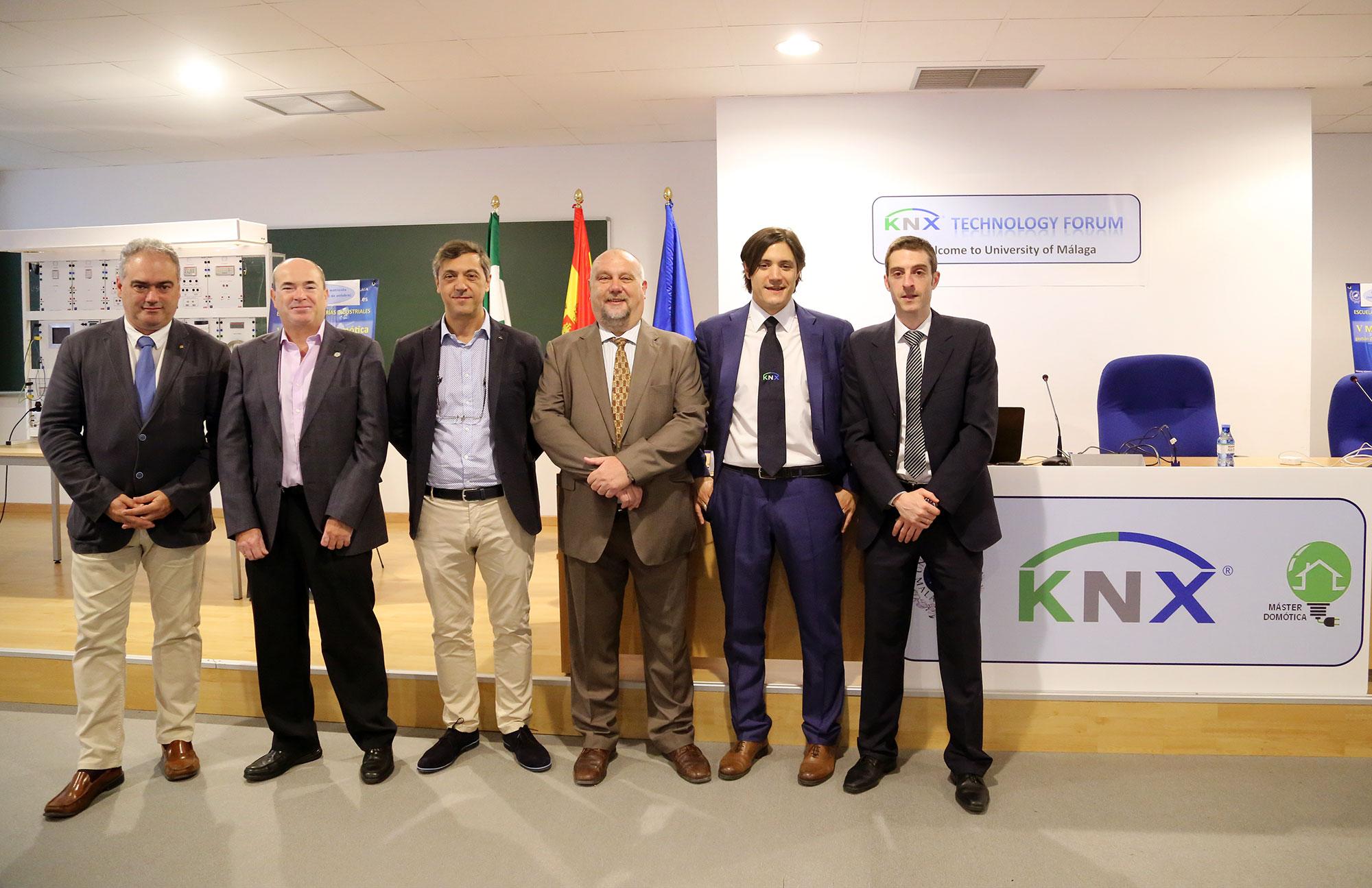 La organización KNX, estándar mundial en domótica, celebra en la UMA un foro de innovación