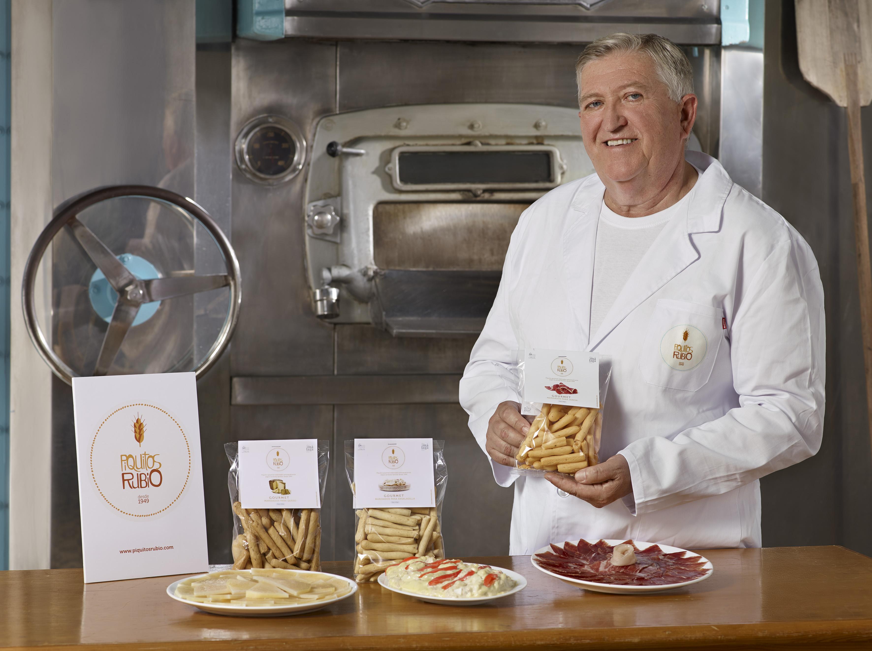 Piquitos Rubio lanza al mercado los primeros picos de pan maridados para tapas típicas nacionales