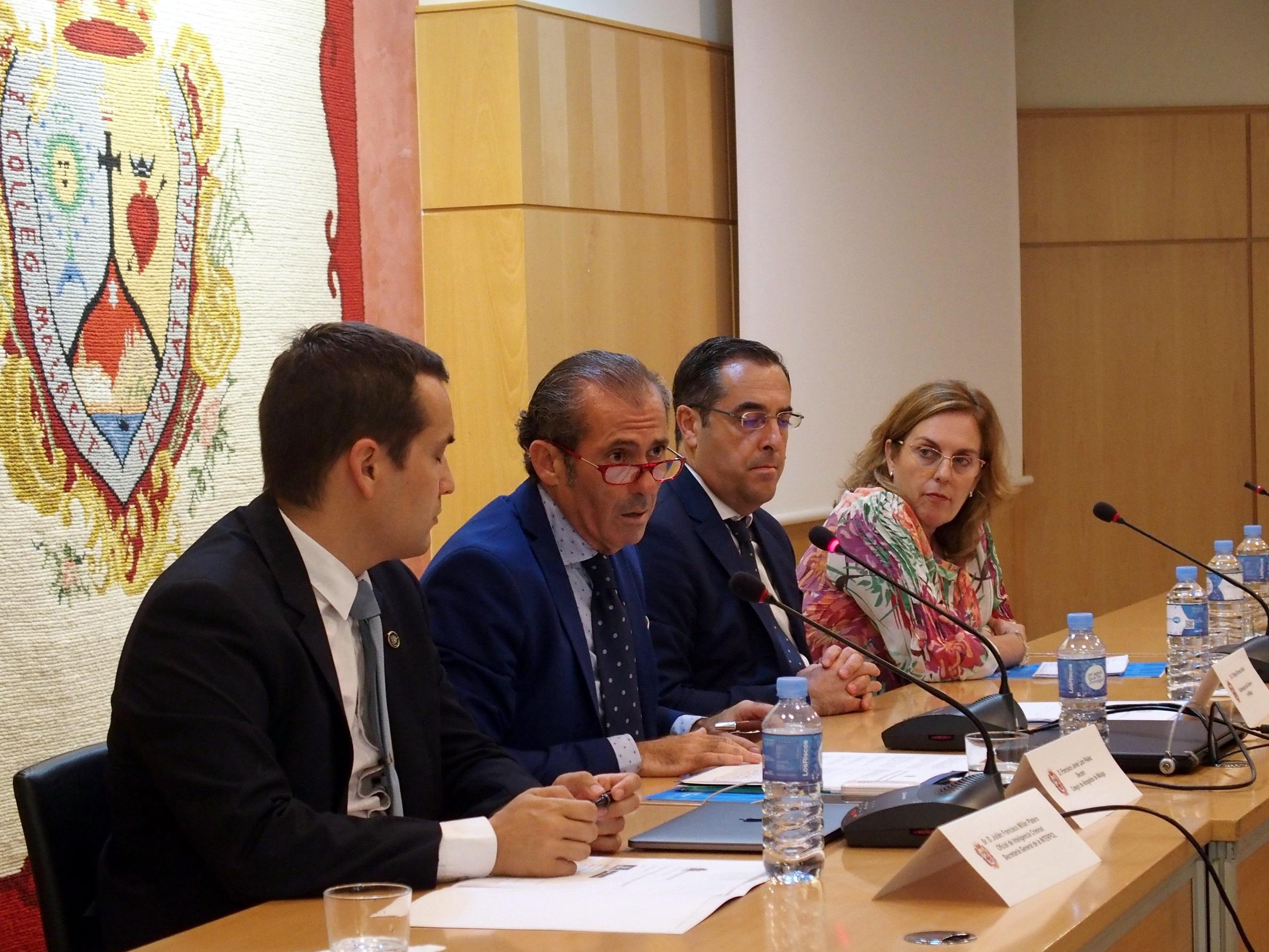 Agentes encubiertos, evidencia digital y abuso sexual infantil centraron la primera jornada del Congreso de Cibercrimen Internacional del Colegio de Abogados de Málaga