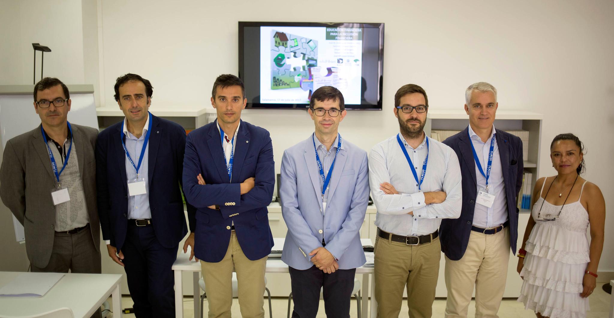 Edufinet presenta su proyecto de educación para la inclusión financiera en el 4º Congreso Latinoamericano de Ciencias Sociales en la Universidad de Salamanca