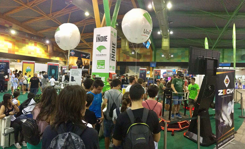 Unicaja participa en la quinta edición del Festival de Videojuegos Gamepolis con el patrocinio exclusivo de la Zona Indie y GameInvest