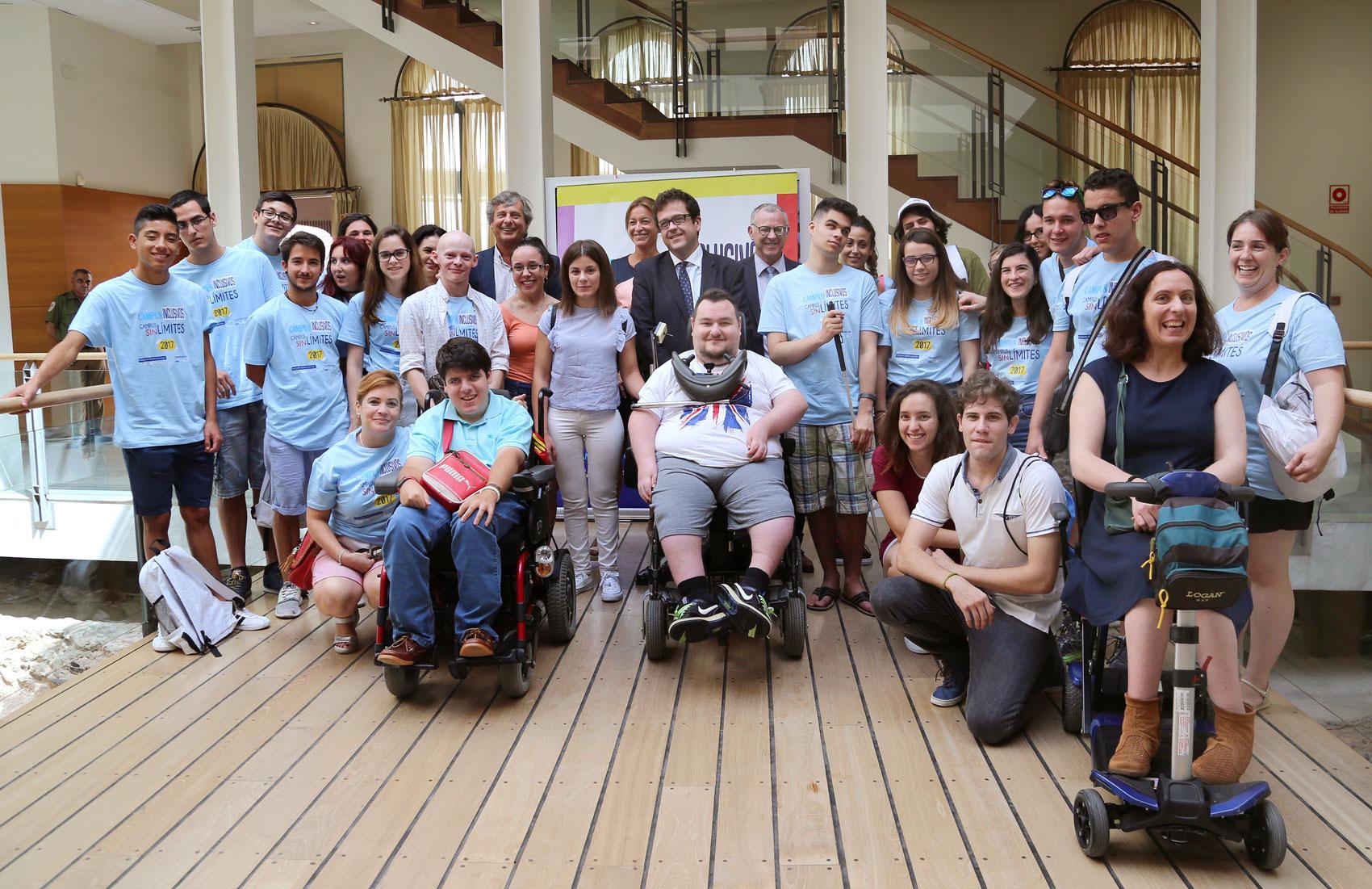 La UMA abre un año más sus puertas a los estudiantes con discapacidad