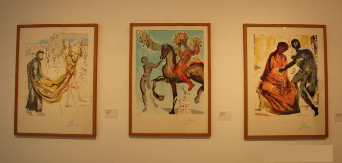 """Se inaugura la exposición """"Dalí y Don Quijote, obra gráfica"""" en la Biblioteca Municipal"""