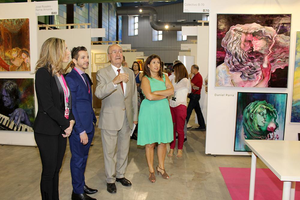 Éxito de la I feria Internacional de Arte Contemporáneo en Málaga con más de 12.000 visitas