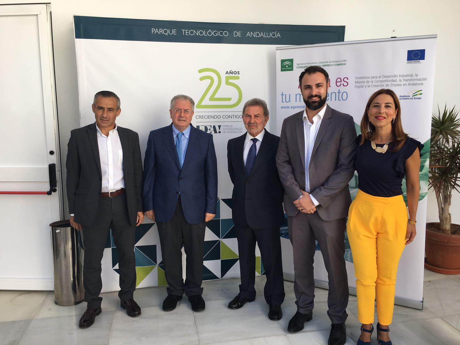 González Marín señala que las ayudas de IDEA impulsarán la nueva ubicación de empresas en espacios tecnológicos