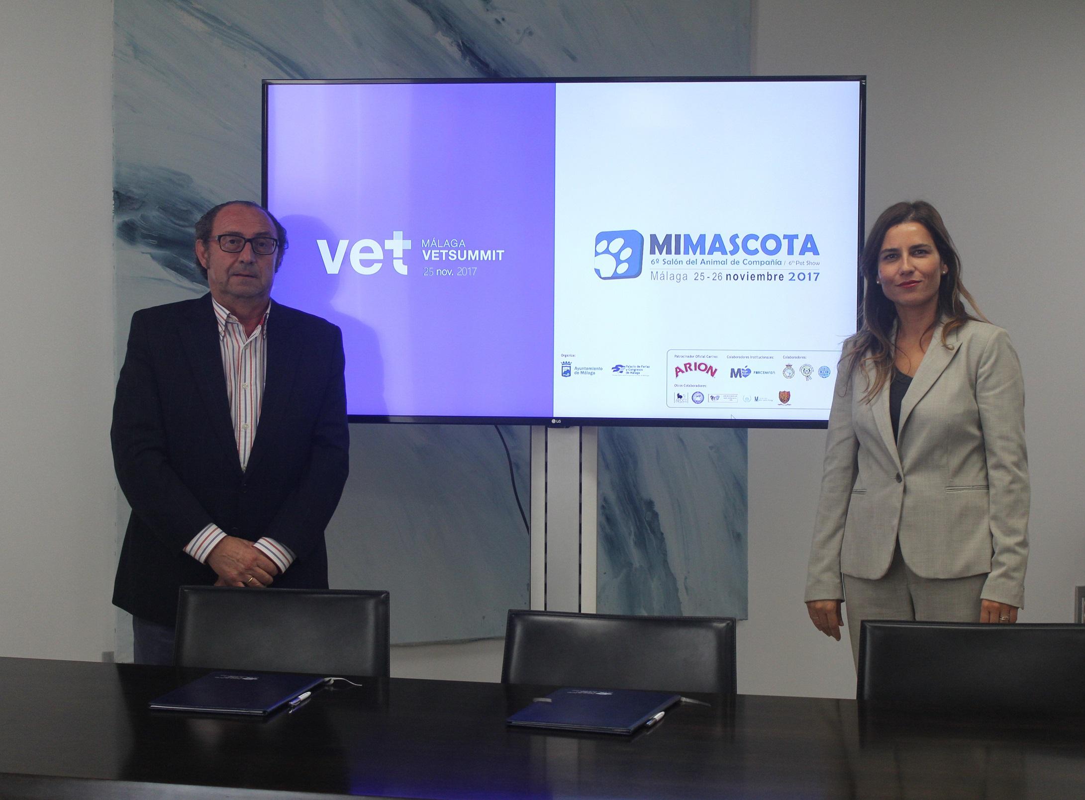 El Colegio de Veterinarios de Málaga celebrará el Congreso Málaga Vet Summit en el Salón Mi Mascota