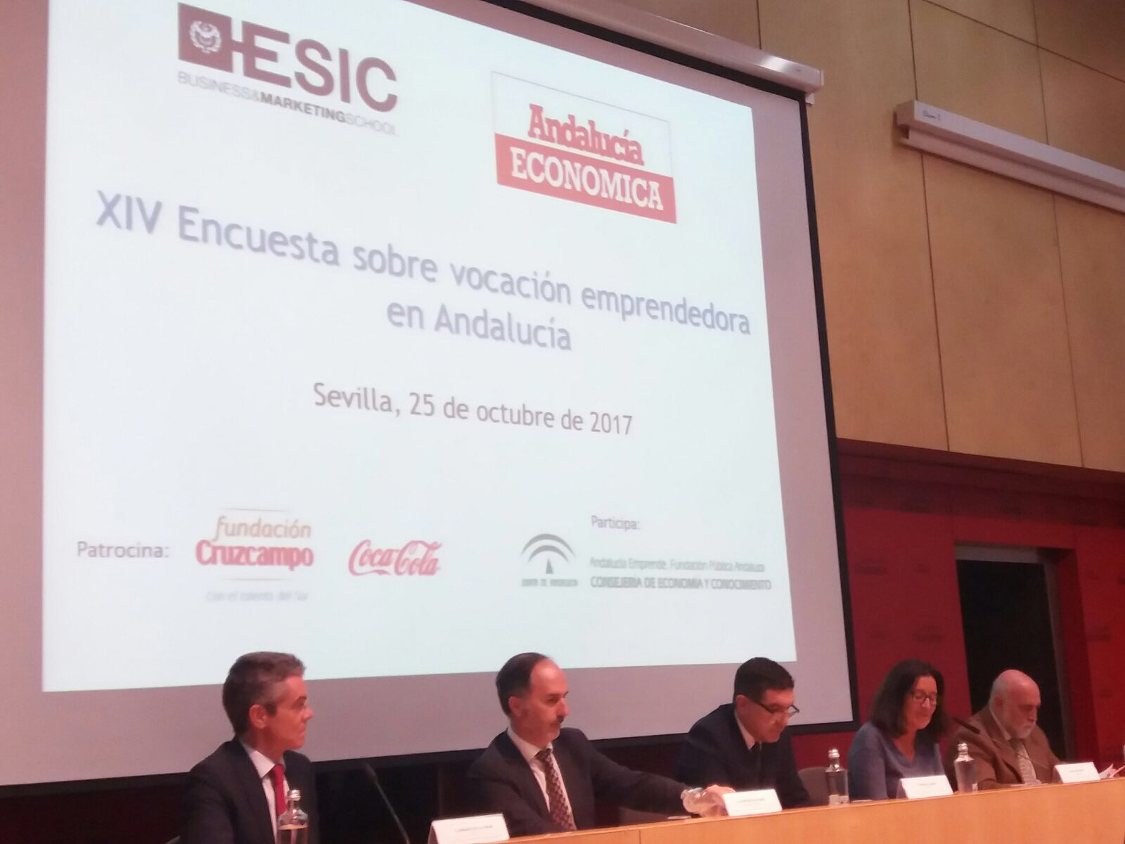 El presidente de Andalucía Emprende destaca que la vocación emprendedora en universitarios andaluces sube cinco puntos