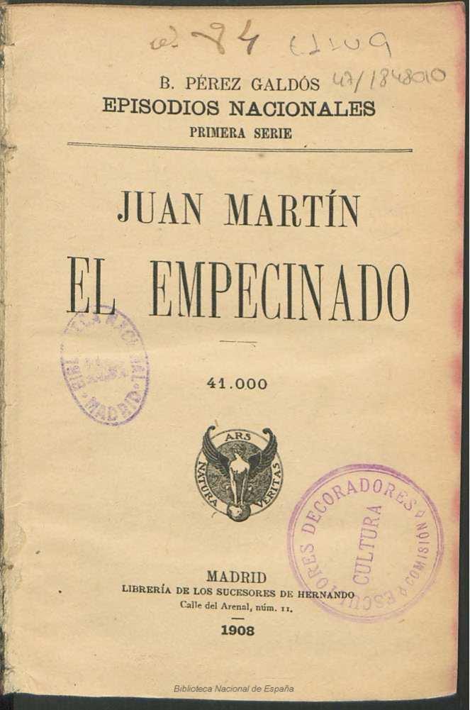 El Cultural – Juan Martín, El Empecinado